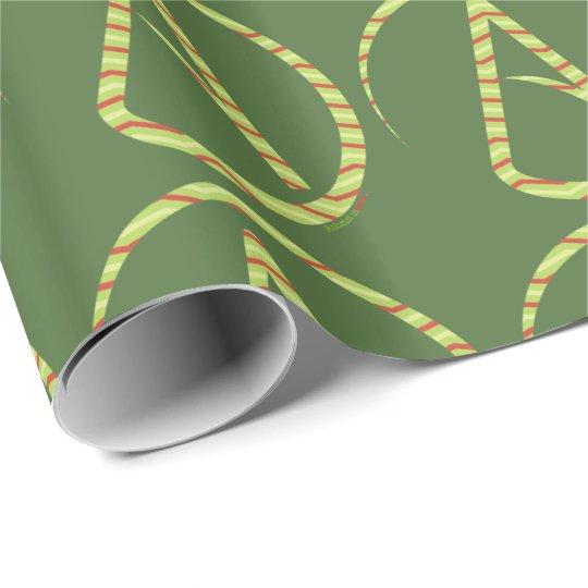 Atheist Symbol Holiday Gift Wrap