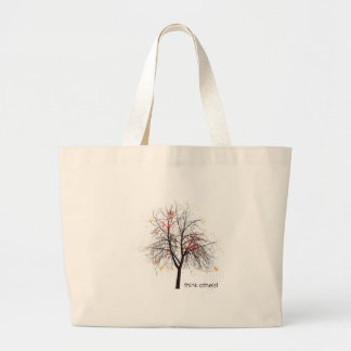 Atheist Tree Tote Bags
