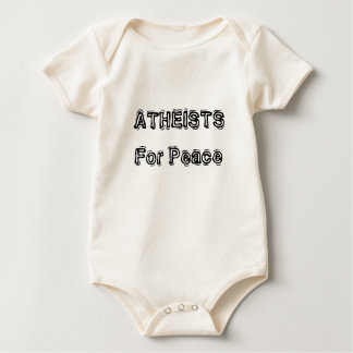 Atheists For Peace Baby Bodysuit