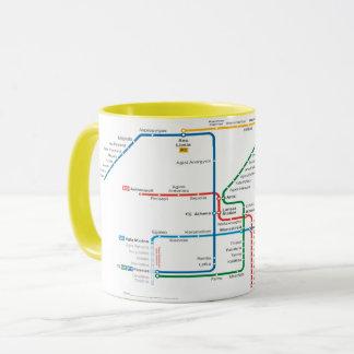 Athen metro mug