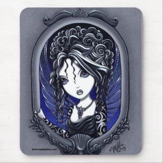 Athena Dark Elegant Tattoo Faery Mouse Pad