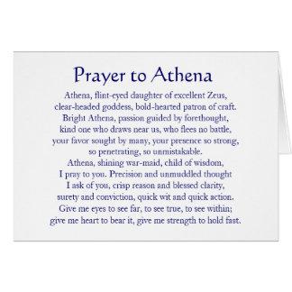 Athena Notecard
