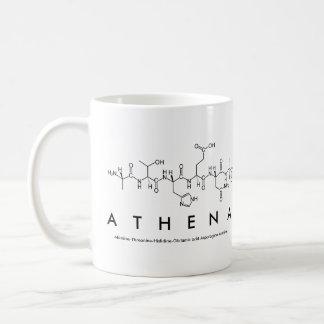 Athena peptide name mug