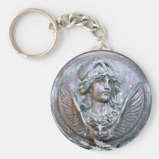 Athena Shield Keychain
