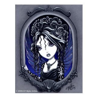 """""""Athena"""" Tattooed Fae Postcard"""