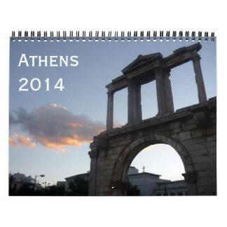 athens 2014 calendar