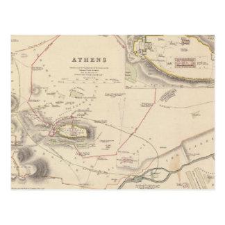 Athens, Acropolis Postcard