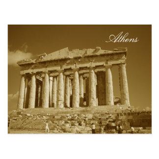athens, Athens Postcard