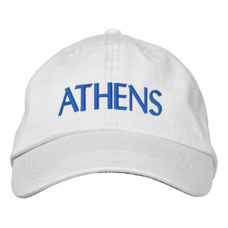 Athens Embroidered Hat