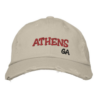 Athens Georgia Cap Embroidered Hats