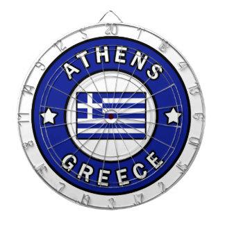 Athens Greece Dartboard