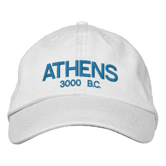 Athens Greece Personalized Adjustable Hat