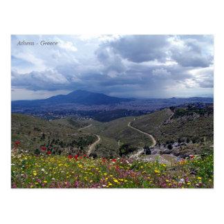 Athens – Greece Postcard