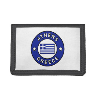 Athens Greece Tri-fold Wallet