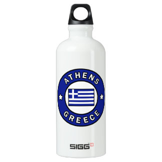 Athens Greece Water Bottle