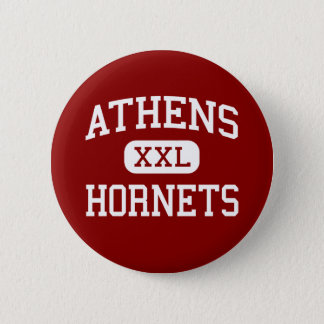 Athens - Hornets - Middle School - Athens Texas 2 Inch Round Button