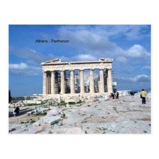 Athens Parthenon Postcard