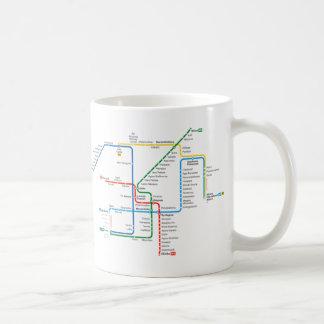 Athens underground map Mug