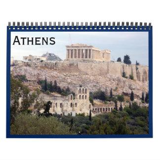 athens wall calendar