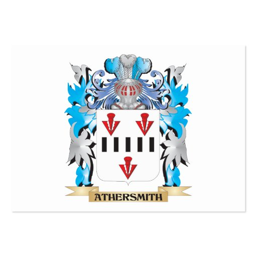 Athersmith Coat Of Arms Business Card