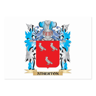 Atherton Coat Of Arms Business Card Template