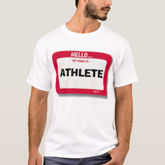 Athlete Nametag T-Shirt