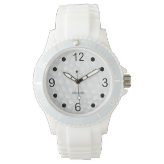 Athletic Golfer Design - Personalize Watch