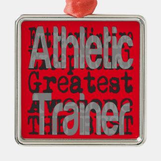 Athletic Trainer Extraordinaire Metal Ornament