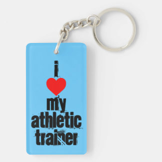 Athletic Trainer keychain (double sided)