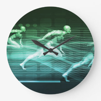 Athletic Training and Running Together Clocks