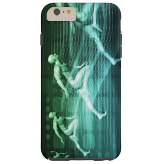 Athletic Training and Running Together Tough iPhone 6 Plus Case