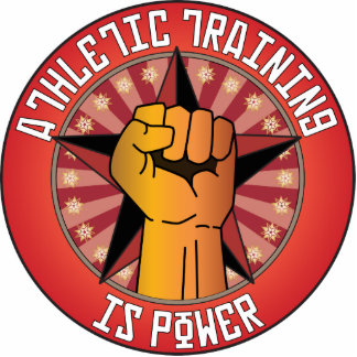 Athletic Training Is Power Photo Cutout