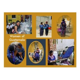 Atitlan Guatemala - Strong Women Postcard