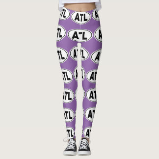 ATL Atlanta Georgia Leggings