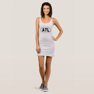 ATL Atlanta Georgia Sleeveless Dress
