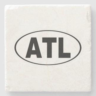 ATL Atlanta Georgia Stone Coaster
