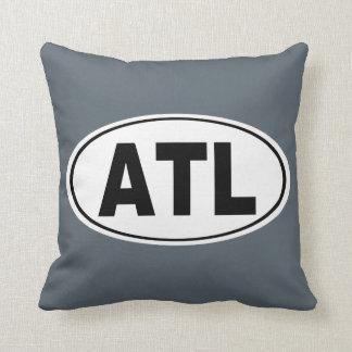 ATL Atlanta Georgia Throw Pillow