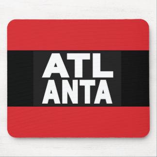 Atlanta 2 Red Mouse Pad