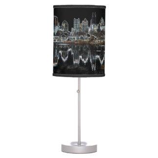 Atlanta Aglow City Skyline Lamp