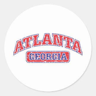 Atlanta Athletic Classic Round Sticker