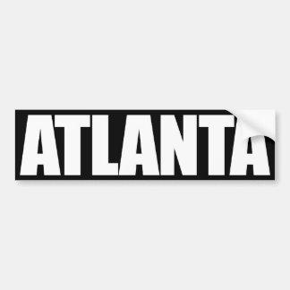 Atlanta Bumper Sticker
