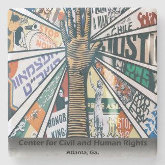 Atlanta Center For Civil and Human Rights,Coasters Stone Coaster