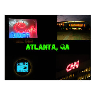Atlanta, GA Postcard