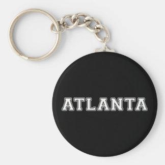 Atlanta Georgia Basic Round Button Keychain