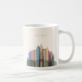 Atlanta, Georgia | City Skyline Coffee Mug