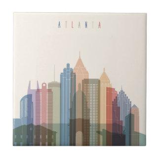 Atlanta, Georgia | City Skyline Tile