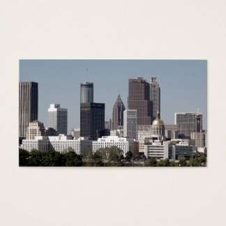 Atlanta Georgia Cityscape Business Card