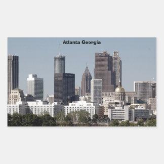 atlanta georgia cityscape sticker