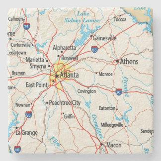 Atlanta, Georgia, Map, Coasters