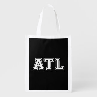 Atlanta Georgia Reusable Grocery Bag